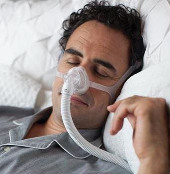 Sales Demo: Wisp Nasal Mask Fit-Pack (Clear Frame) by Philips Respironics