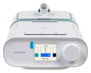 Bundle Deal: DreamStation Auto CPAP Machine (DSX500H11) and NuancePro Nasal Pillow Mask Fit-Pack (1105167) by Philips Respironics