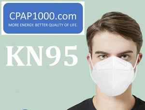 CPAP1000 KN95 Particulate Respirator (Pack of 10, 5 Layers) - Equivalent as US NIOSH N95 Performance
