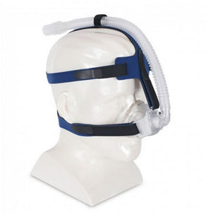 iQ AirGel Nasal Mask - Stable Fit Headgear (Customizable Shape!) by Sleepnet