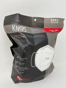 KD FFP2 Particulate Respirators (5 Layers) - Equivalent as US NIOSH N95 Performance