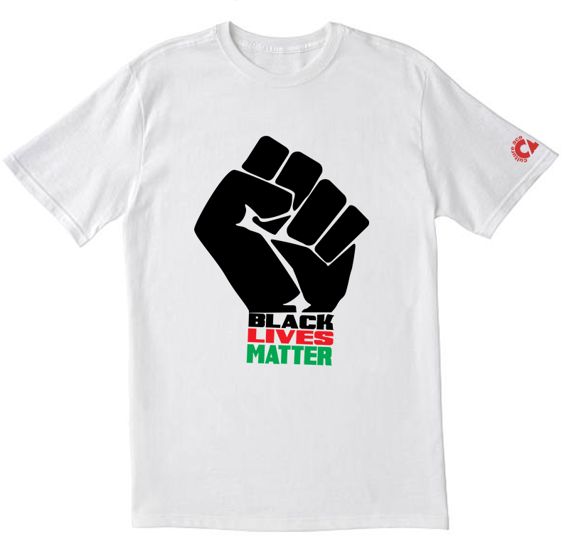 BLM T-Shirt - Black/Red/Green
