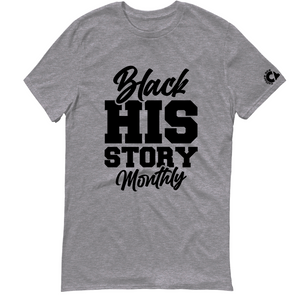 Black HIS Story T-Shirt