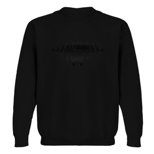 CA Black on Black Dallas Music Scene Sweatshirt
