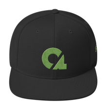 Culture Ace Lime Green Logo Snapback Hat