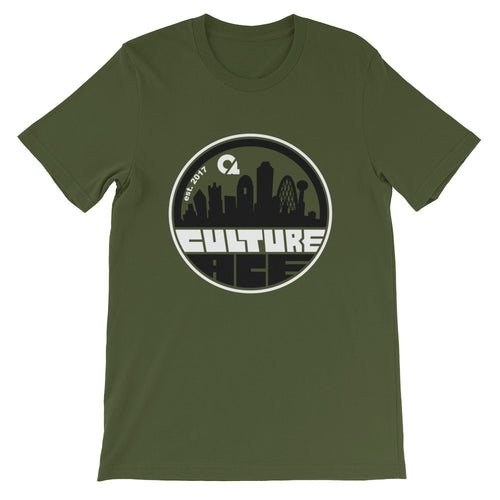 Culture Ace Dallas Skyline Black/White Graphic T-Shirt