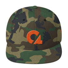 Culture Ace Orange Logo/Camo Snapback Hat