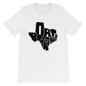 Port Arthur Texas Black Print T-Shirt