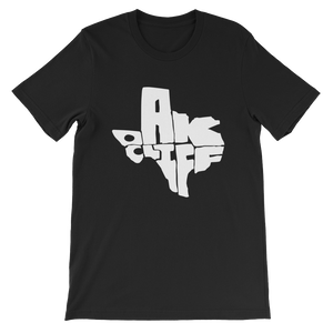Oak Cliff Texas White Print T-Shirt
