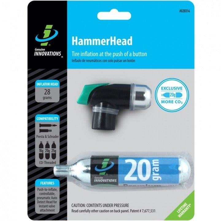 Genuine Innovations HammerHead #G20314 In Package