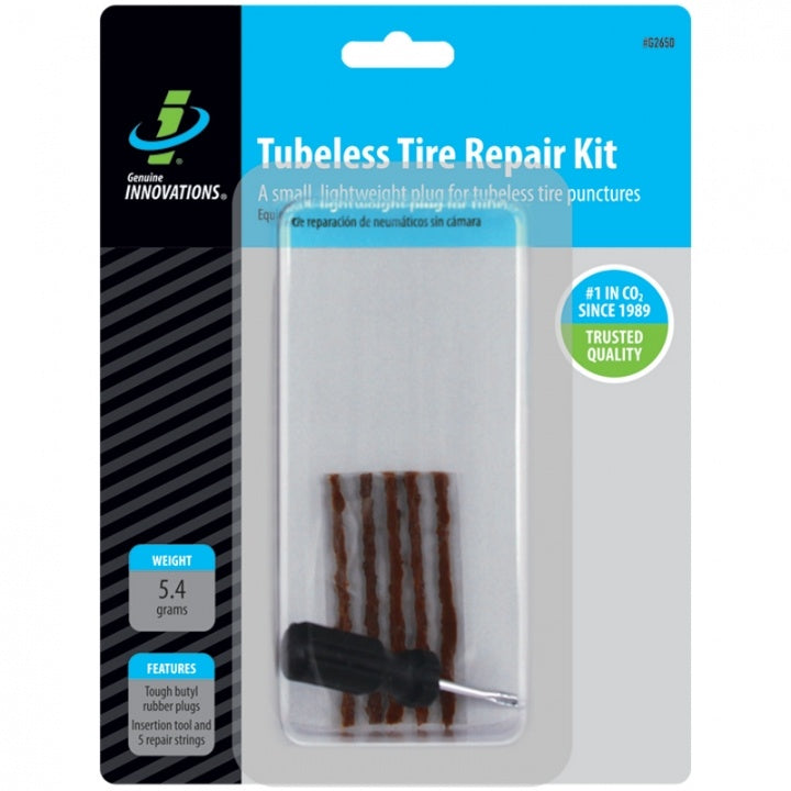 Genuine Innovations Tubeless Tire Repair Kit #G2650 In Package