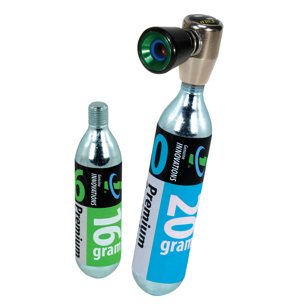 Genuine Innovations AirChuck #G2673 Inflator + CO2 Cartridge