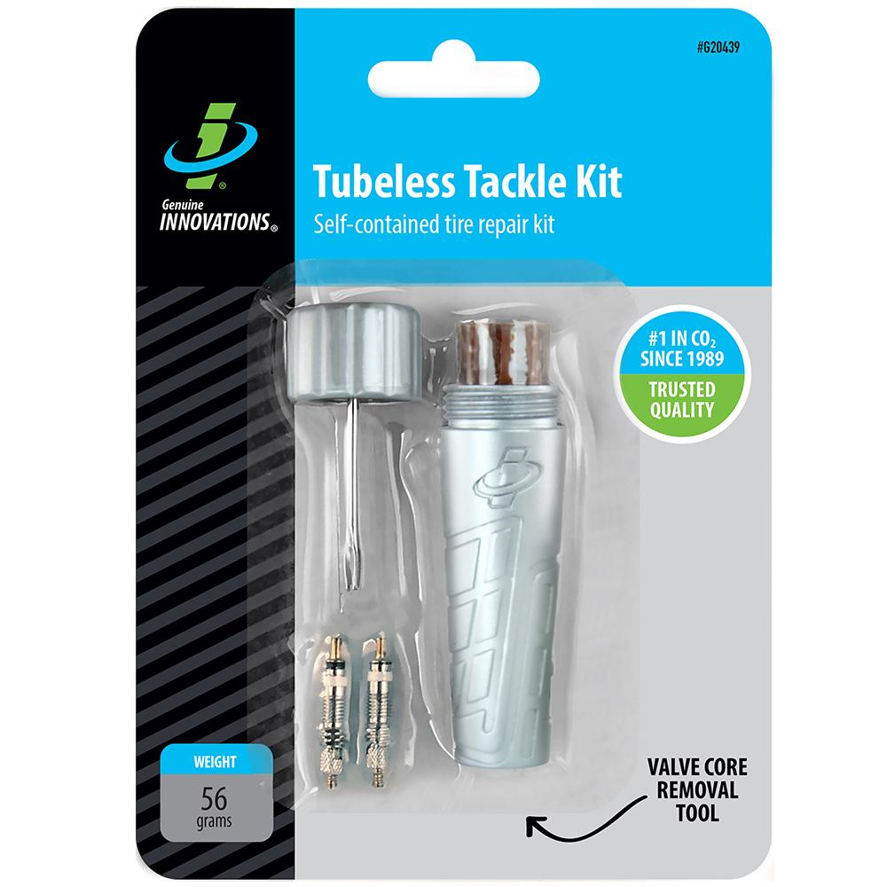 Genuine Innovations Tubeless Tackle Kit #G20439 In Package