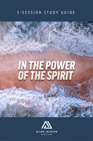 In the Power of the Spirit • Pastor Allen Jackson • Paperback Book