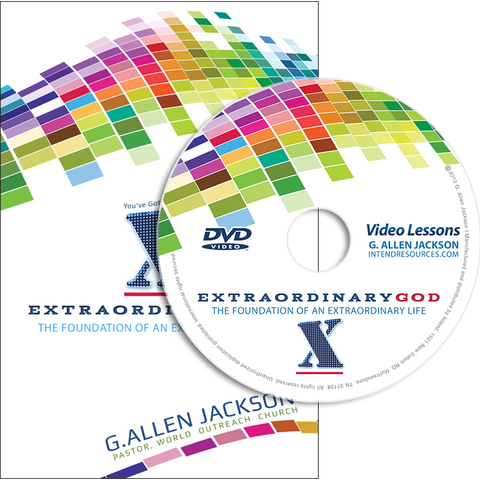 Extraordinary God • Small Group • DVD & Study Guide