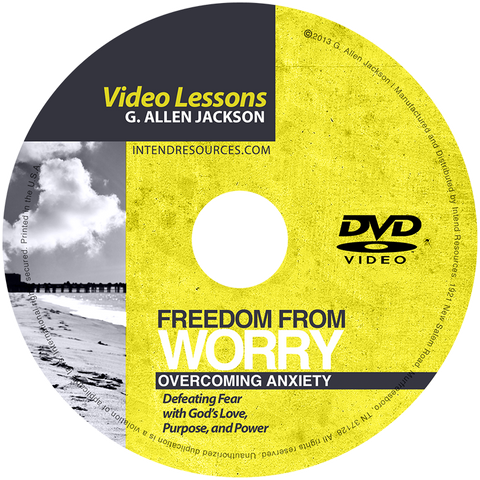 Freedom From Worry • Small Group • DVD & Study Guide