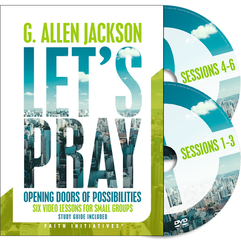 Let's Pray • Small Group • DVD (Study Guide included as digital download)