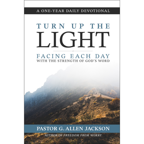 Turn Up the Light • Pastor Allen Jackson • Hardcover Devotional