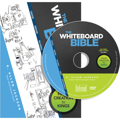The Whiteboard Bible, Volume I • Small Group • DVD & Study Guide