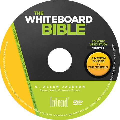 The Whiteboard Bible, Volume II • Small Group • DVD & Study Guide