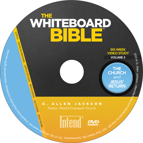 The Whiteboard Bible, Volume III • Small Group • DVD & Study Guide