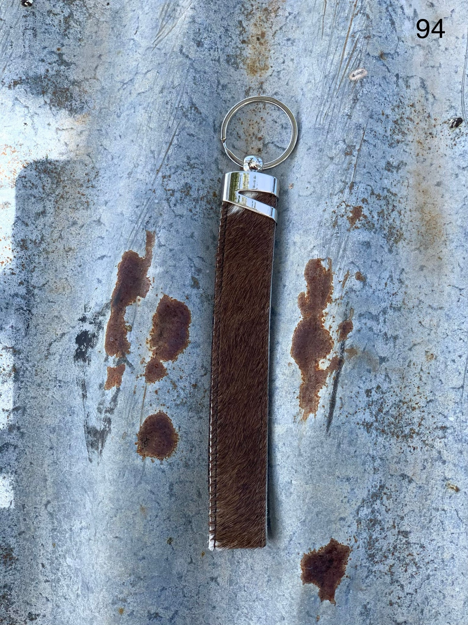 Cow Hide Strap Key Tags _ No  94