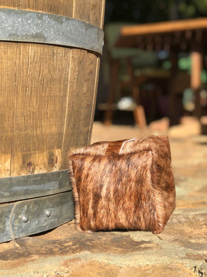 Brindle Cowhide Doorstop