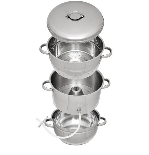 Victorio Stainless Steel Steamer/Juicer