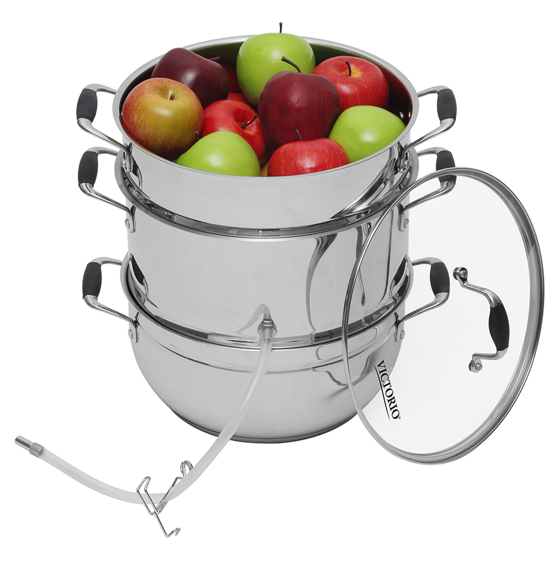 Victorio Deluxe Stainless Steel Juicer