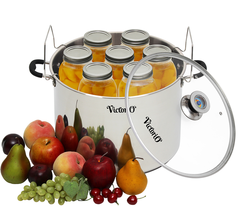 Victorio Stainless Steel Multi-Use Canner