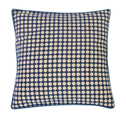 Blue Indigo Dots Pillow Cover Handmade in Bali - British Malaya Shop