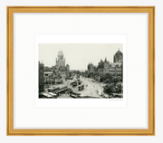 Vintage 1956 View of Buri Bunder Bombay (Mumbai) India Art Print - British Malaya Shop