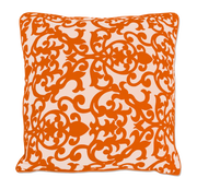 Citrus Orange Pillow Cover Handmade in Bali - British Malaya Shop