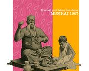 Priest & Student Taking Their Meal Mumbai, India 1907 REMIX Original Fine Art Print