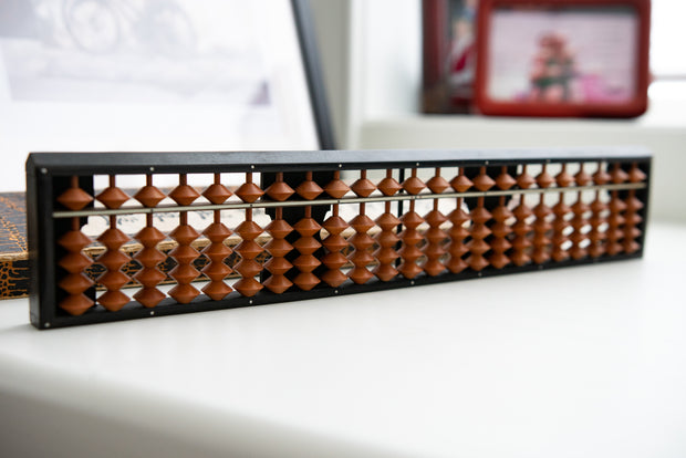 Vintage Japanese Small Wooden Abacus