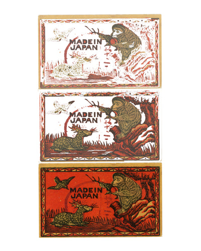 Made in Japan Vintage Japanese Matchbook Original Fine Art Print