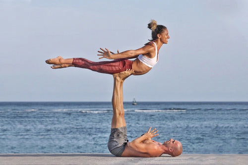 Flying High: Intro to Acroyoga