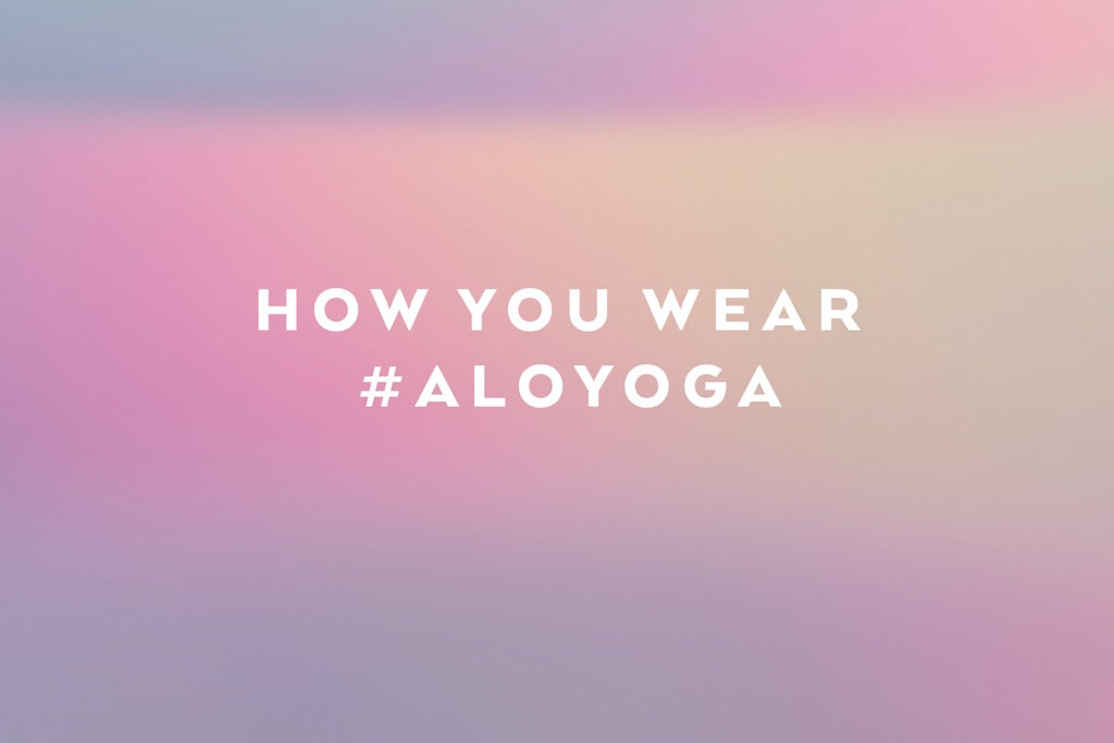 #AloYoga Insta Faves: August