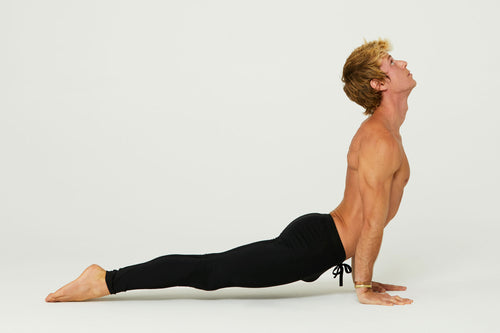 Perfect the Pose: Upward Facing Dog