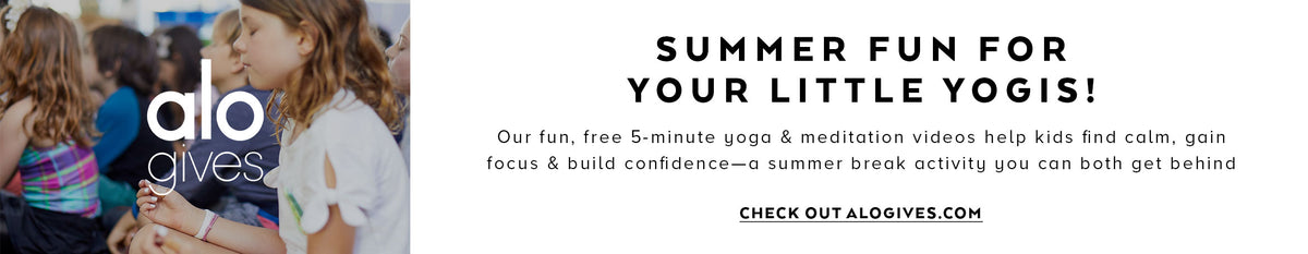 Summer Fun For Your Little Yogis