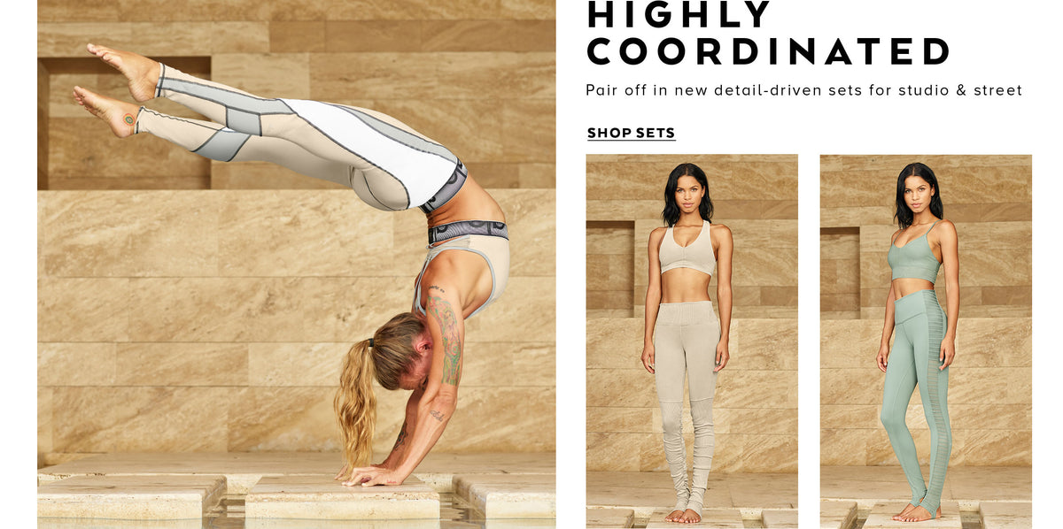 HIGHLY COORDINATED: Pair off in new detail-driven sets for studio & street