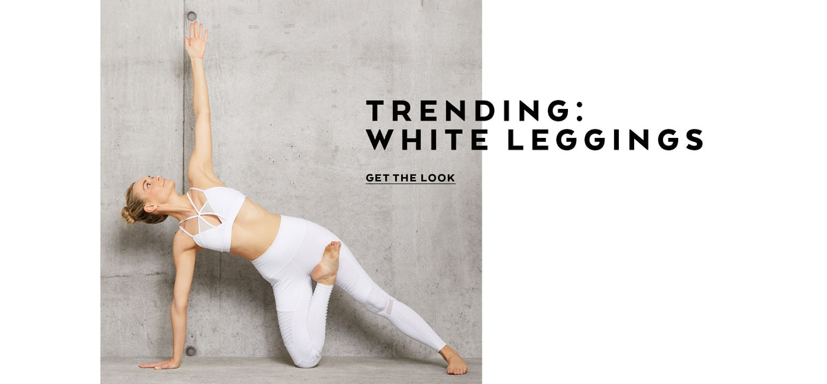 Trending: White Leggings
