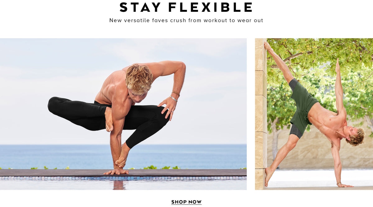 Stay Flexible: New versatile faves crush from workout to wear out