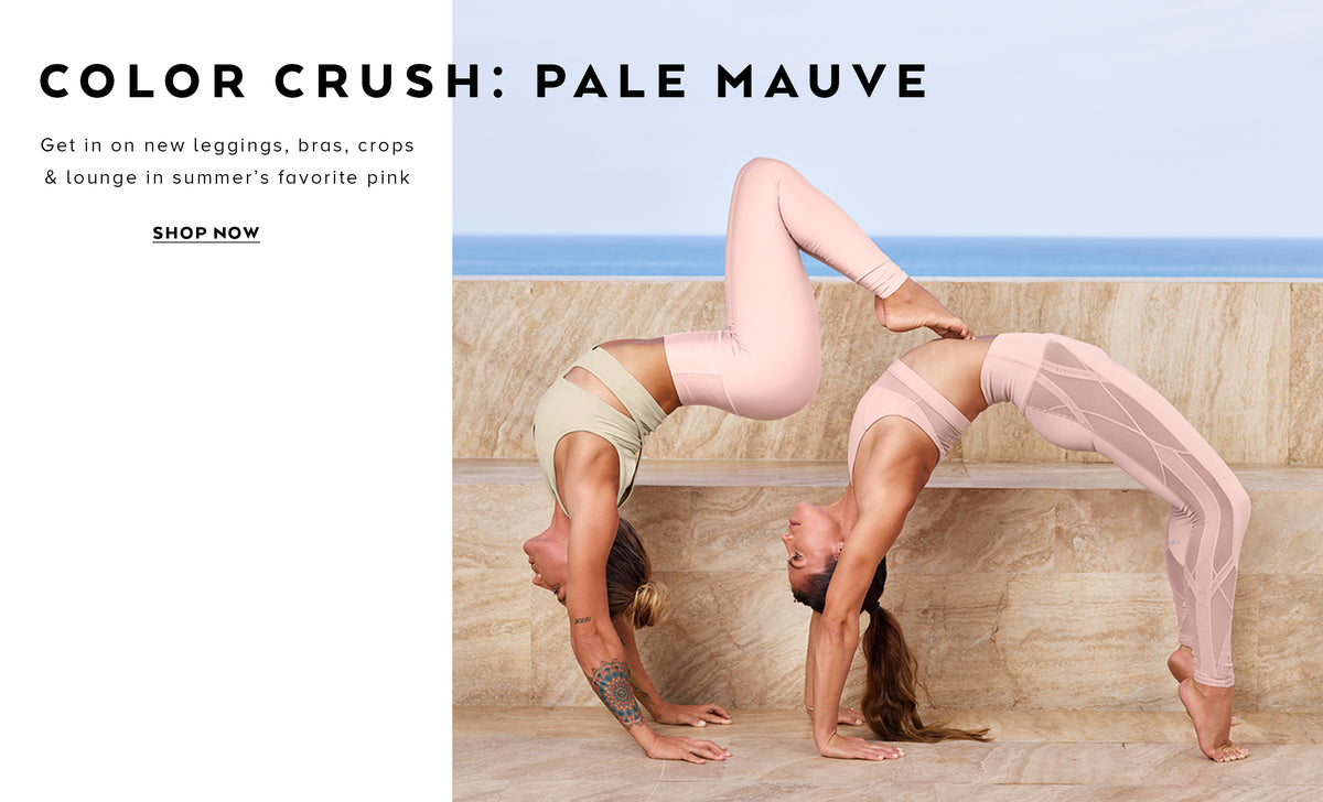 Color Crush: Get in on new summer leggings, bras, crops & lounge in summer's favorite pink