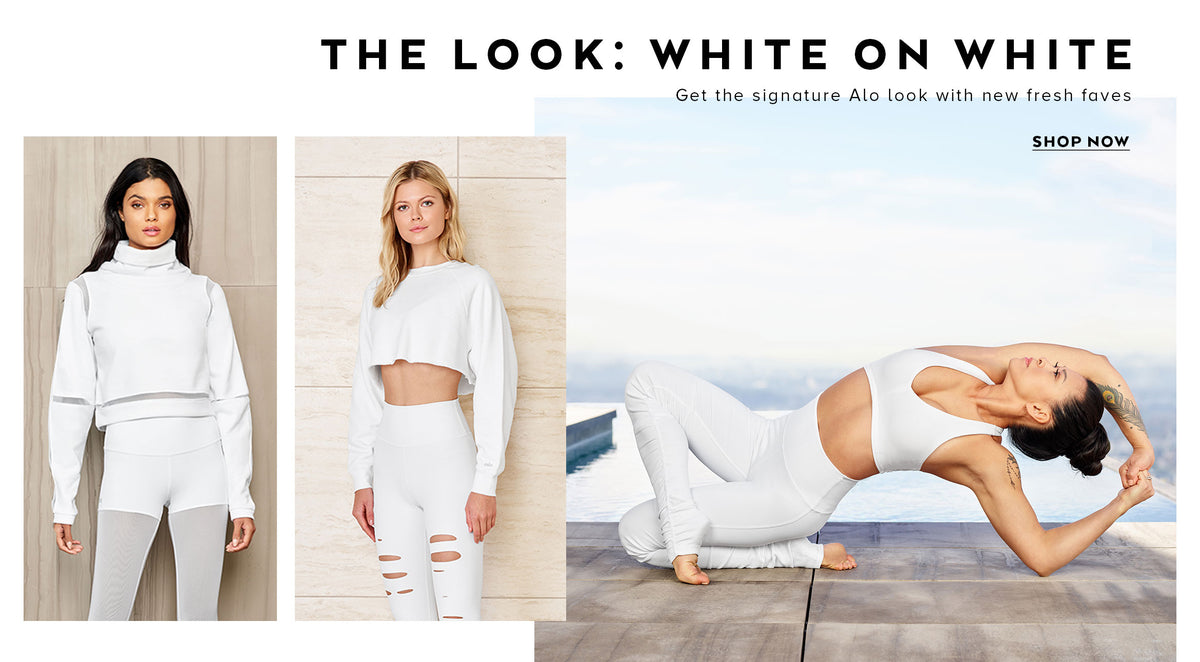 The Look: White on White