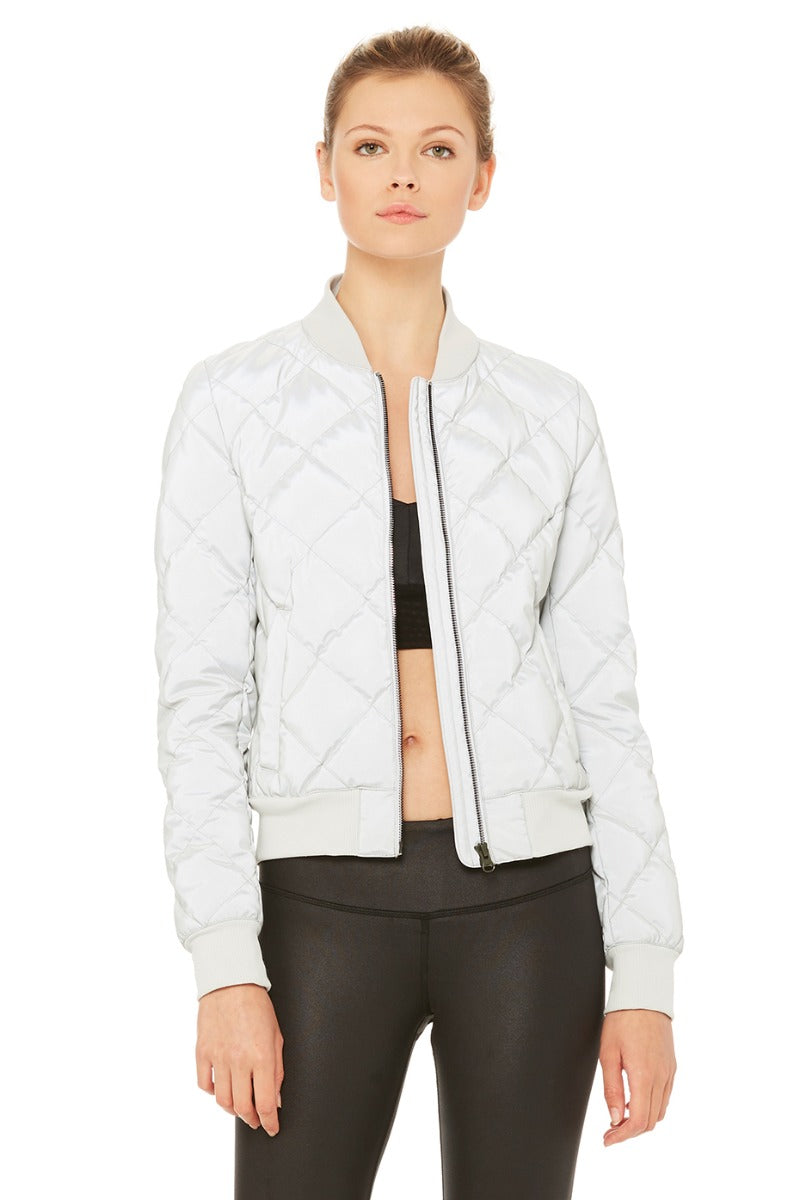 Reflective Idol Bomber Jacket