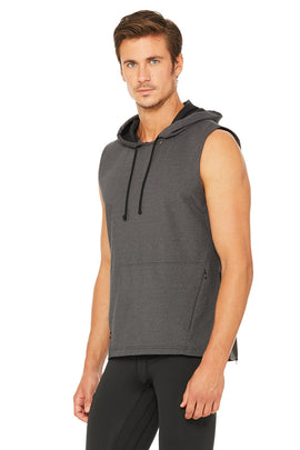 Downward Hooded Vest