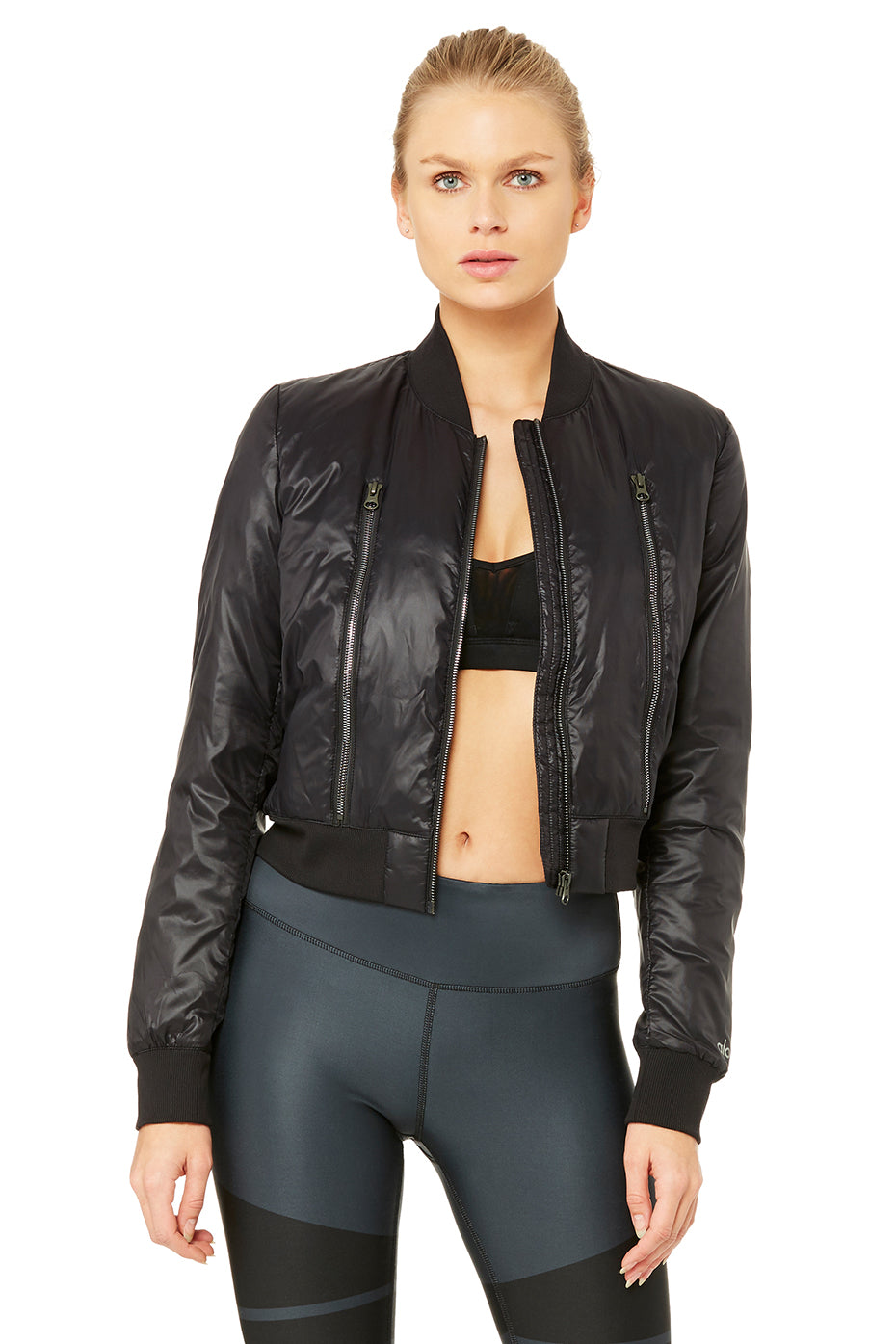 Off-Duty Graphic Bomber Jacket 2