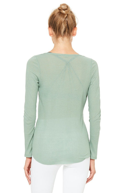 Horizon Long Sleeve Tee - Sage