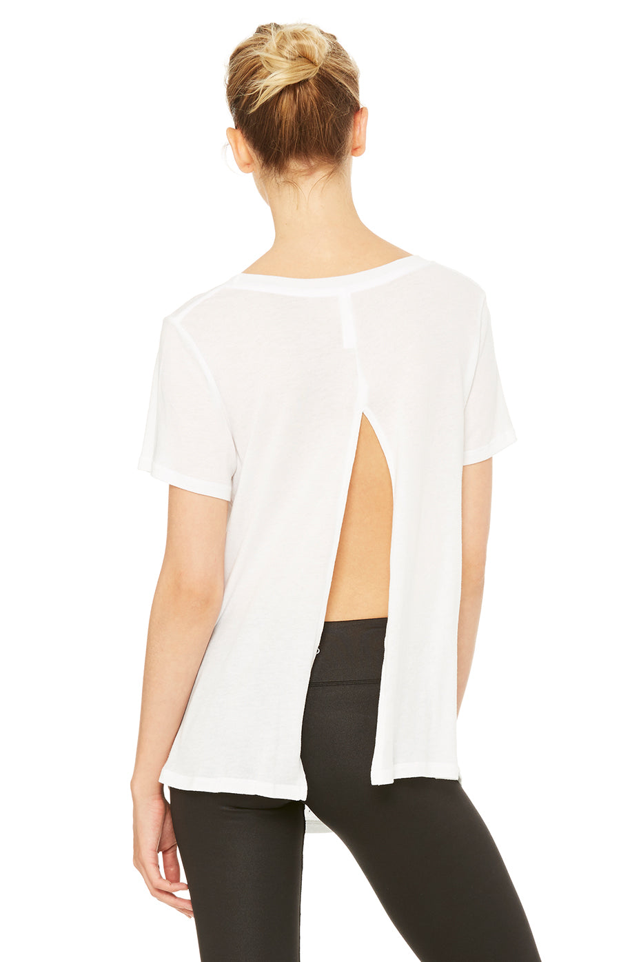Slit Back Graphic Tee